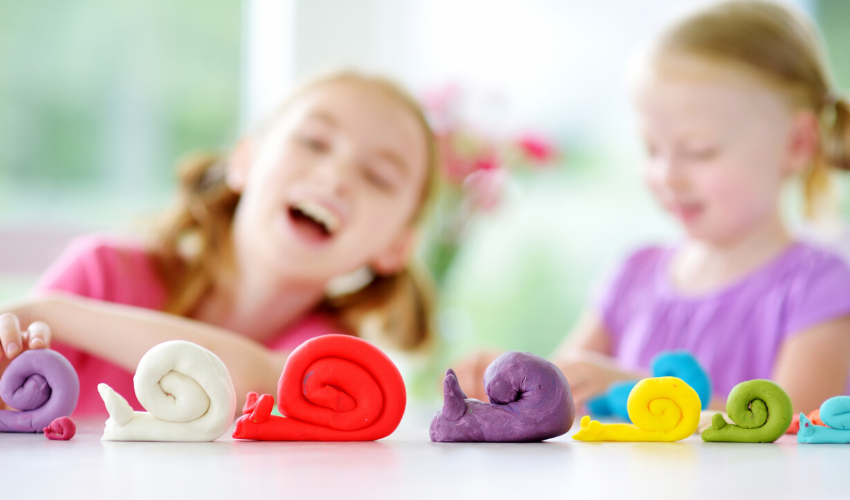 Save Money On Playtime - How To Make Playdough at Home!